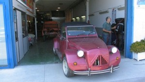 2CV custom cabrio