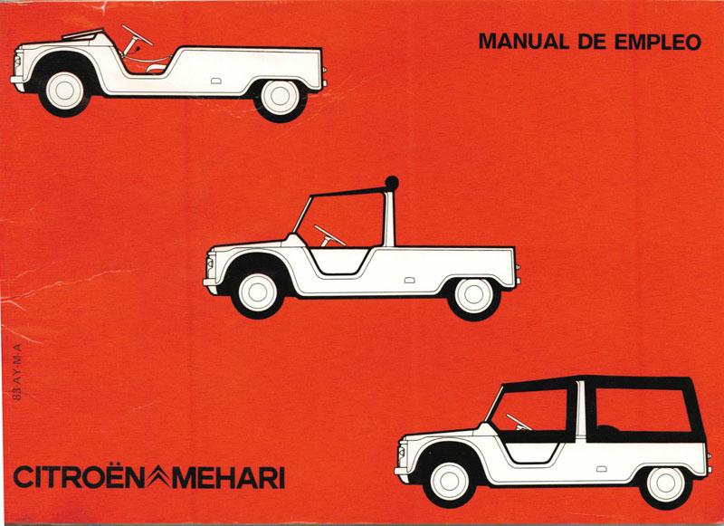 Manual de usuario de un mehari
