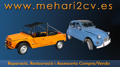 Reparación de Meharis y 2CV