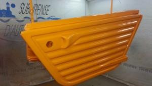 Mehari naranja gama alta