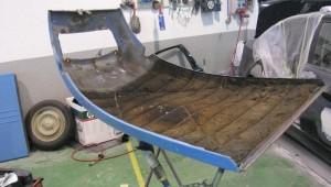Restauración chapa y tapizado 2CV